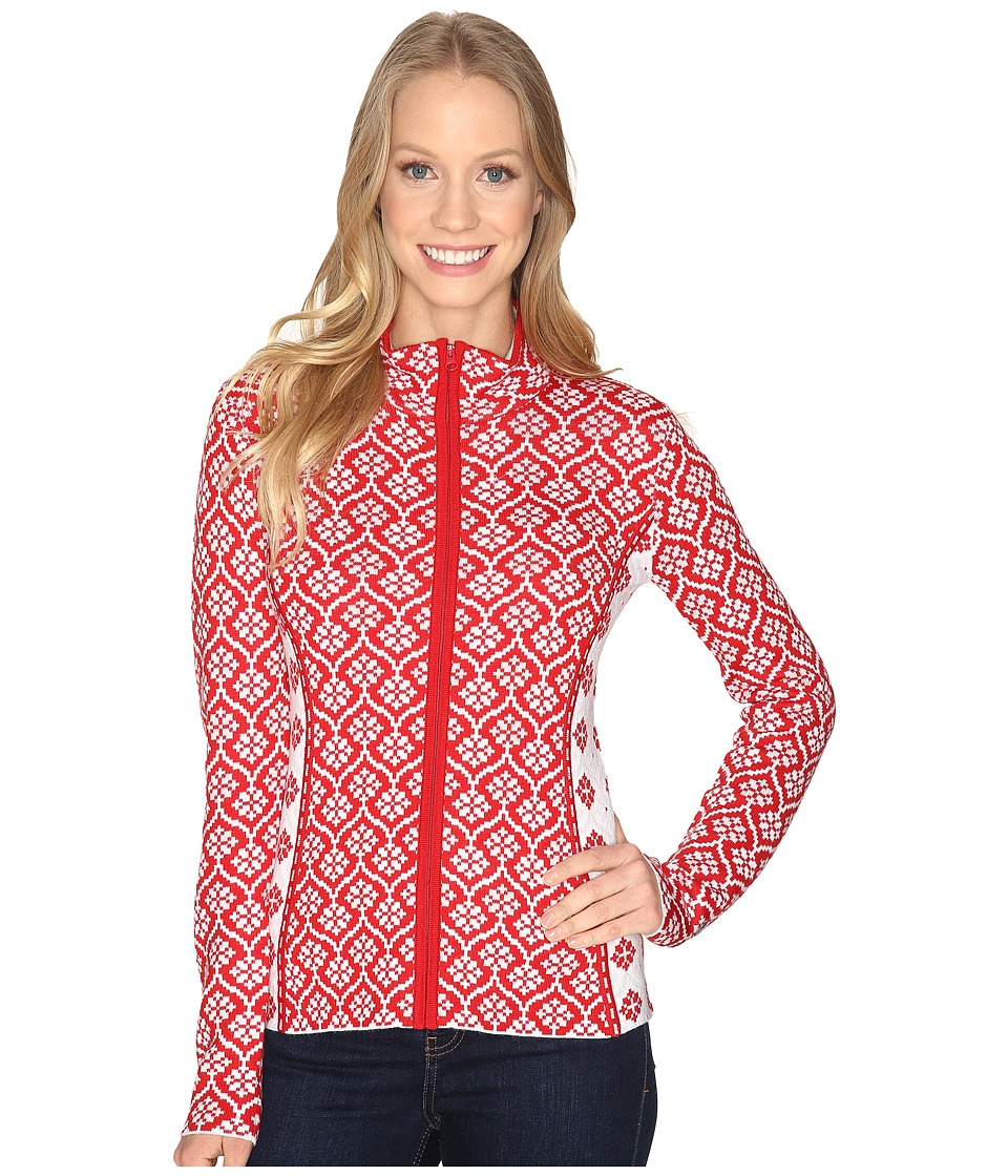 Obermeyer - Jenny Knit Cardigan (Crimson) Women's Sweater