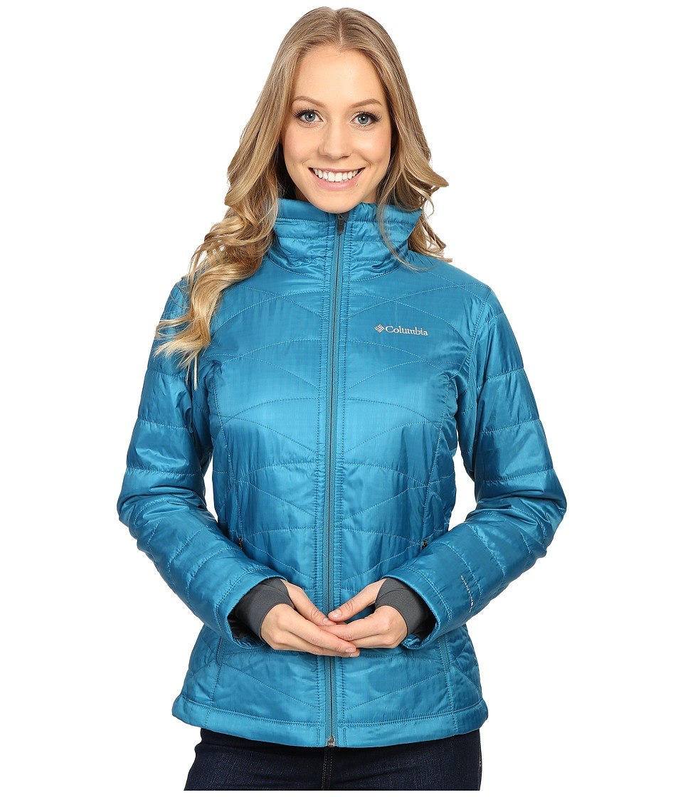 Columbia - Mighty Lite III Jacket (Deep Marine) Women's Jacket