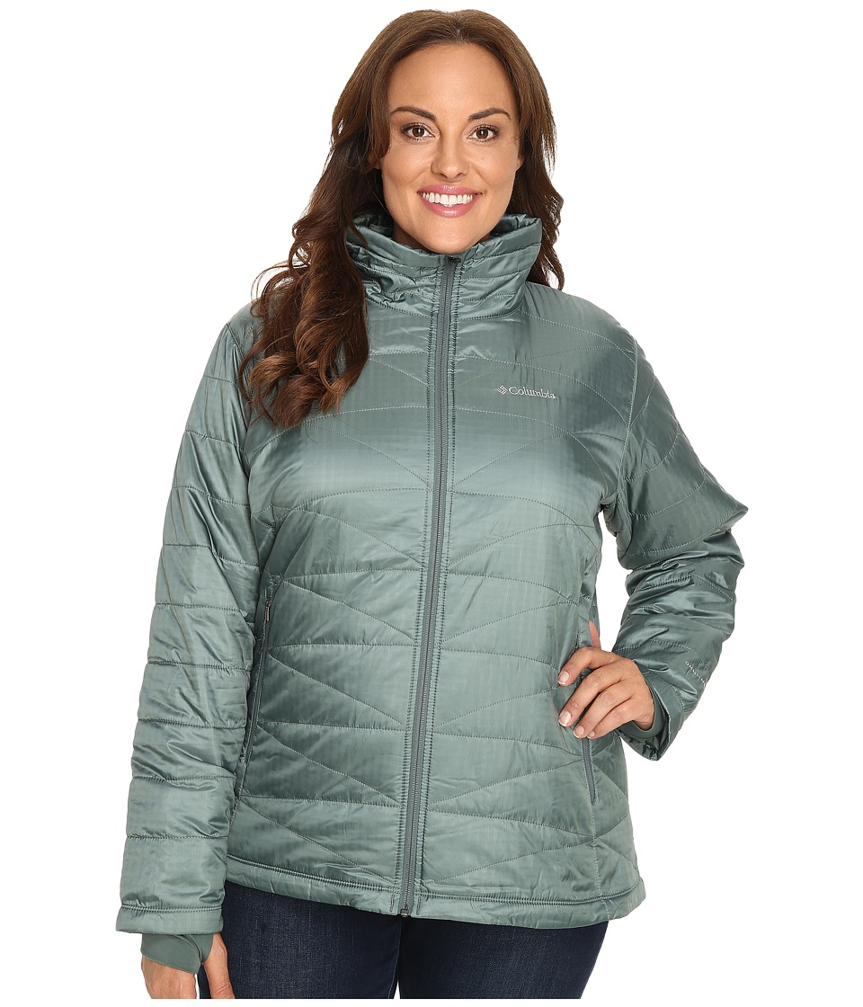 Columbia - Plus Size Mighty Lite III Jacket (Pond) Women's Coat
