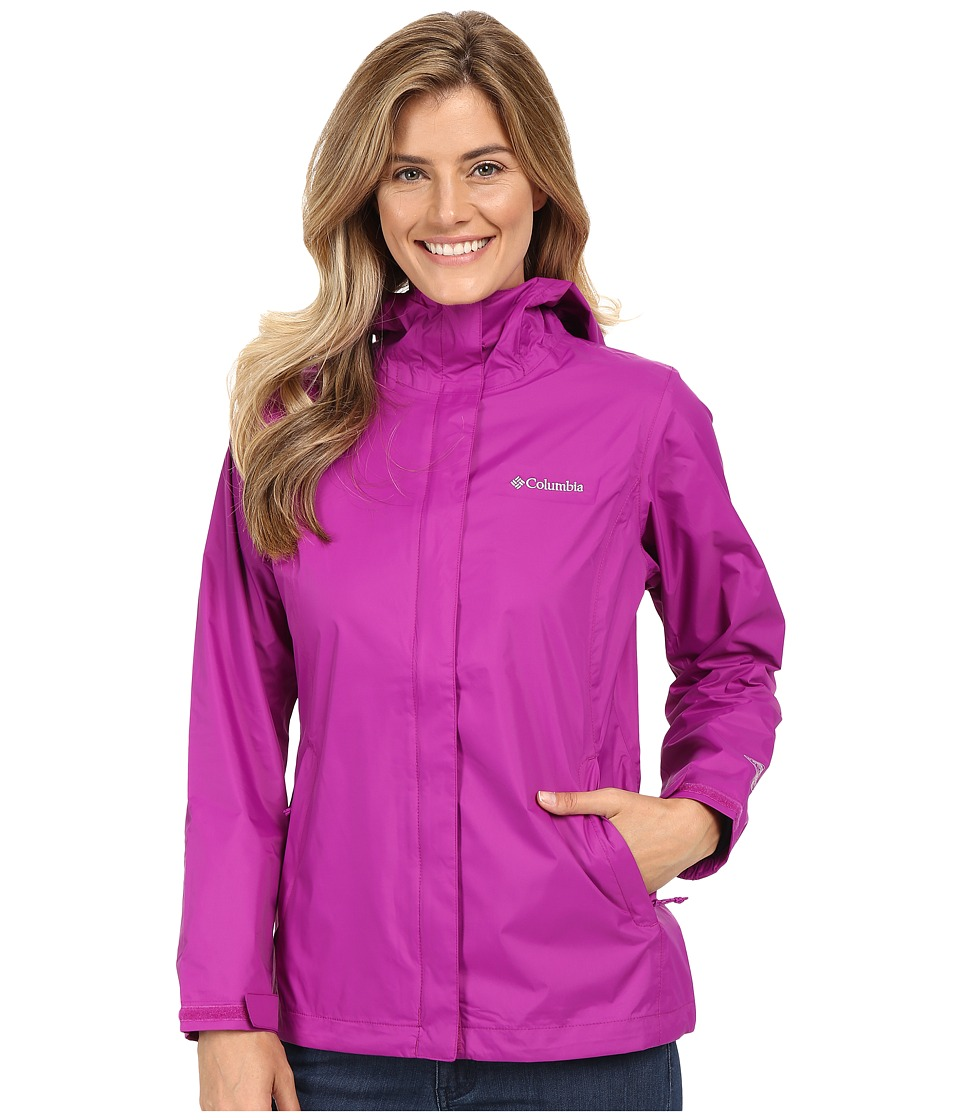 Columbia - Arcadia II Jacket (Bright Plum) Women's Coat