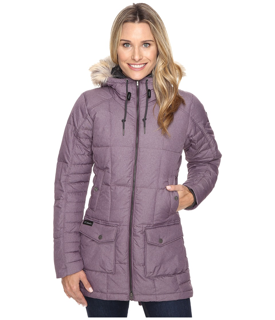 Columbia - Della Fall Mid Jacket (Dusty Purple) Women's Coat