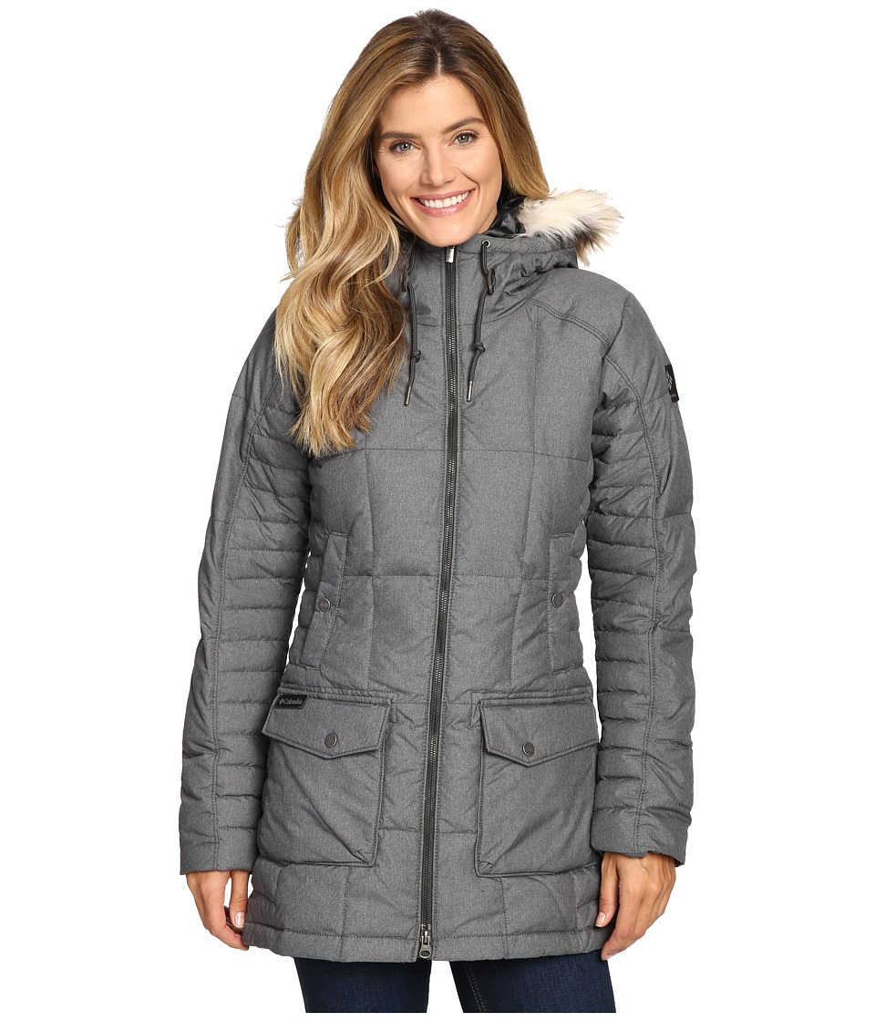 Columbia - Della Fall Mid Jacket (Black) Women's Coat