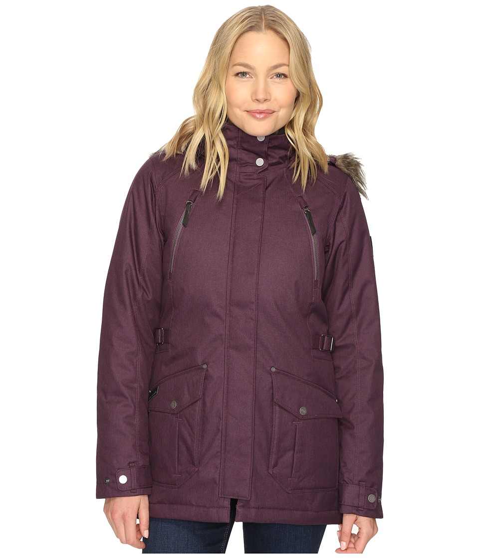 Columbia Barlow Pass 550 TurboDown Jacket (Dusty Purple) Women