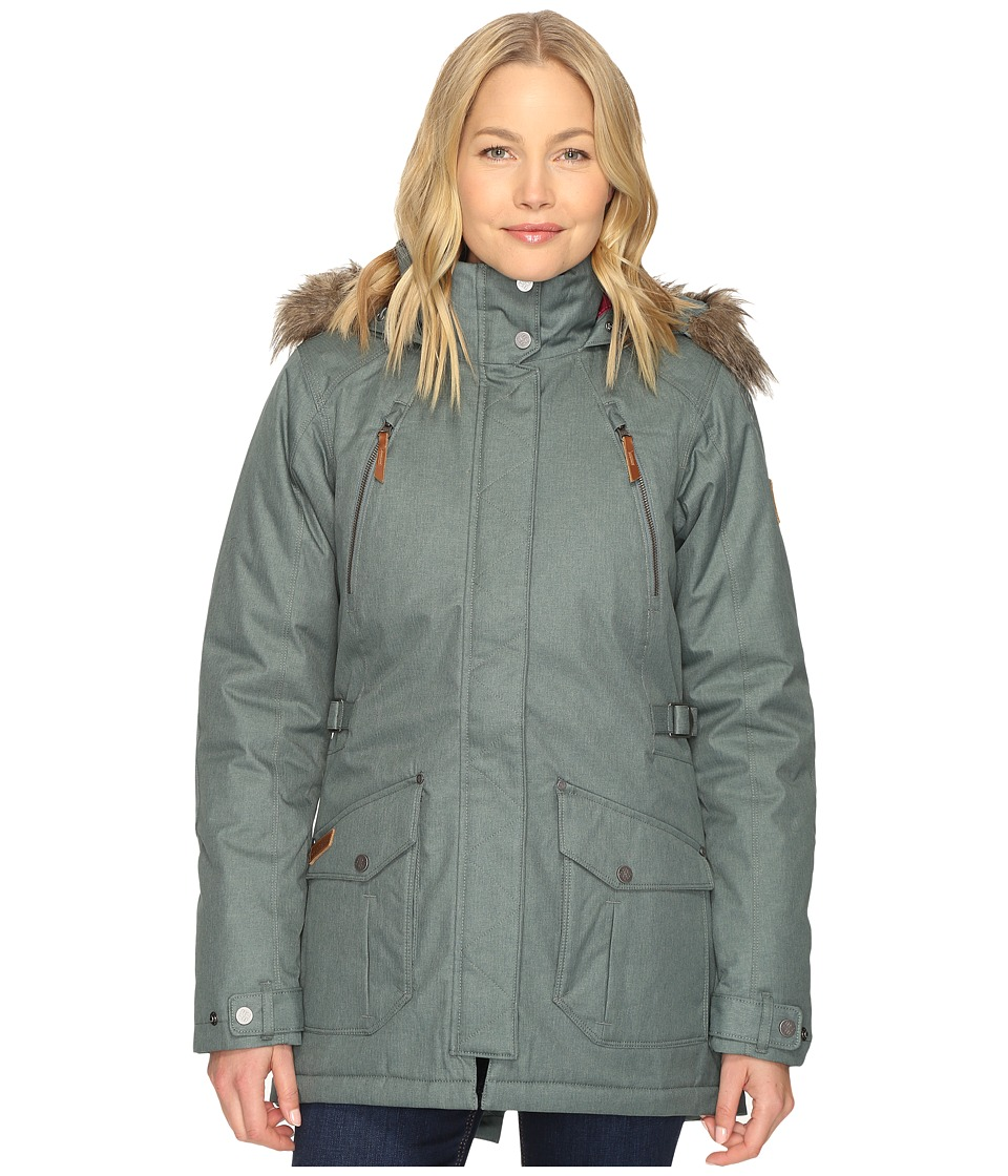 Columbia - Barlow Pass 550 TurboDown Jacket (Pond) Women's Coat