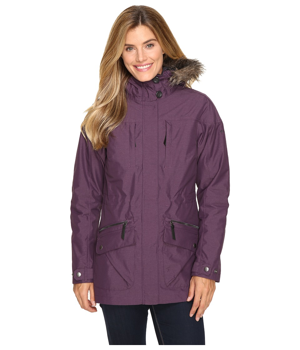 Columbia Carson Pass Interchange Jacket (Dusty Purple) Women