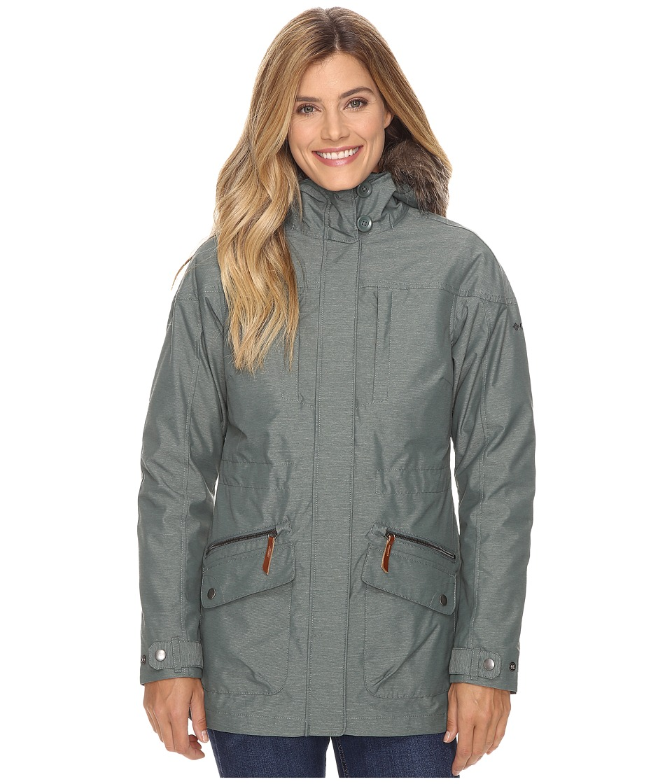 Columbia - Carson Pass Interchange Jacket (Dusty Purple) Women's Coat