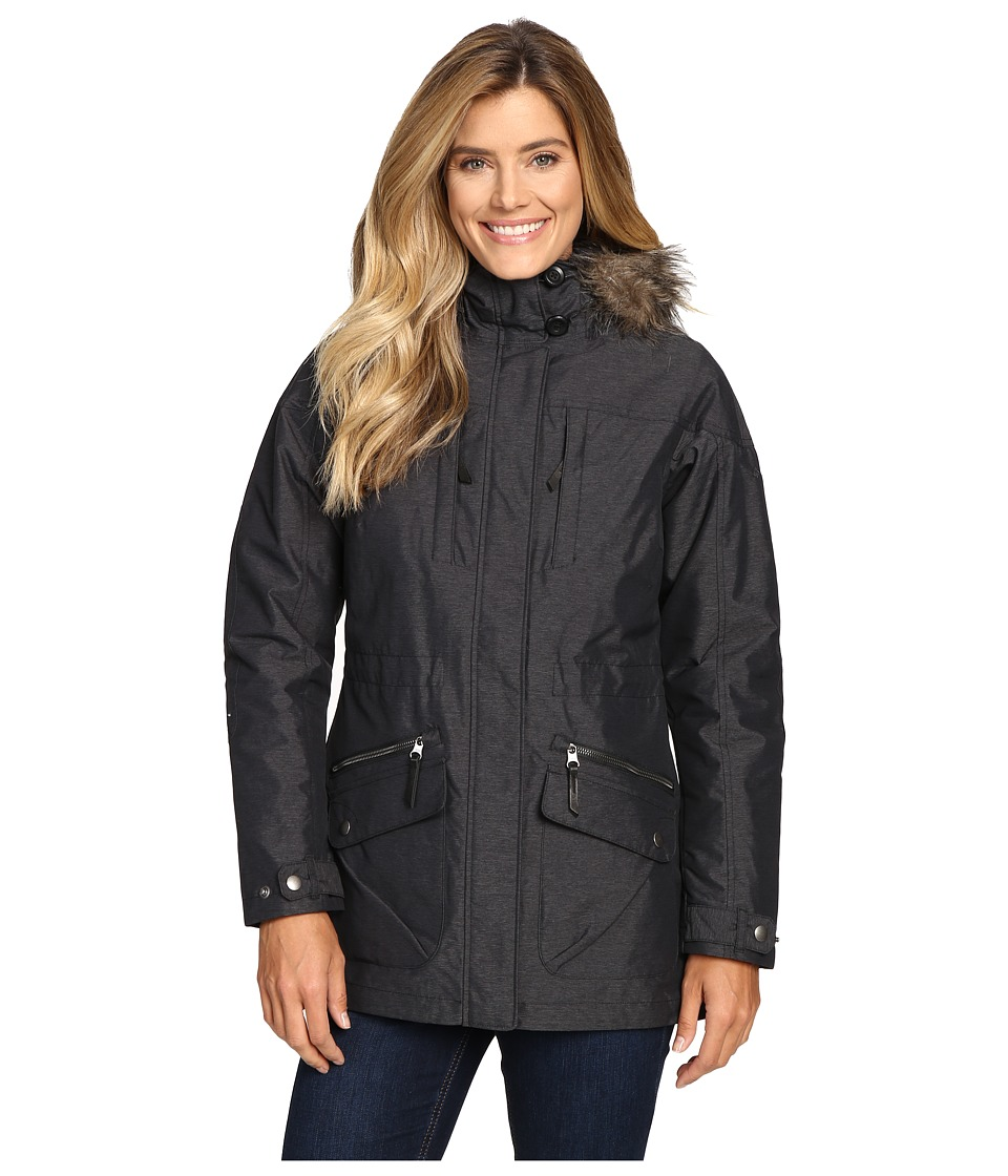 Columbia - Carson Pass Interchange Jacket (Black) Women's Coat