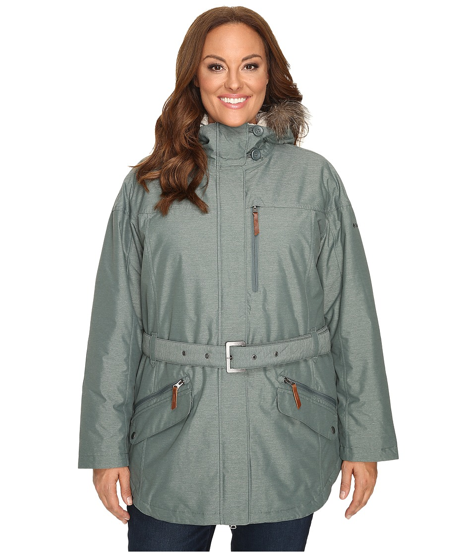 Columbia - Plus Size Carson Pass II Jacket (Pond) Women's Coat