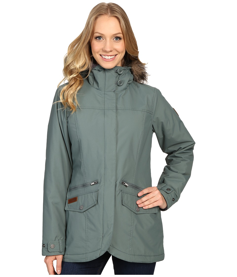 Columbia Grandeur Peak Mid Jacket (Pond) Women