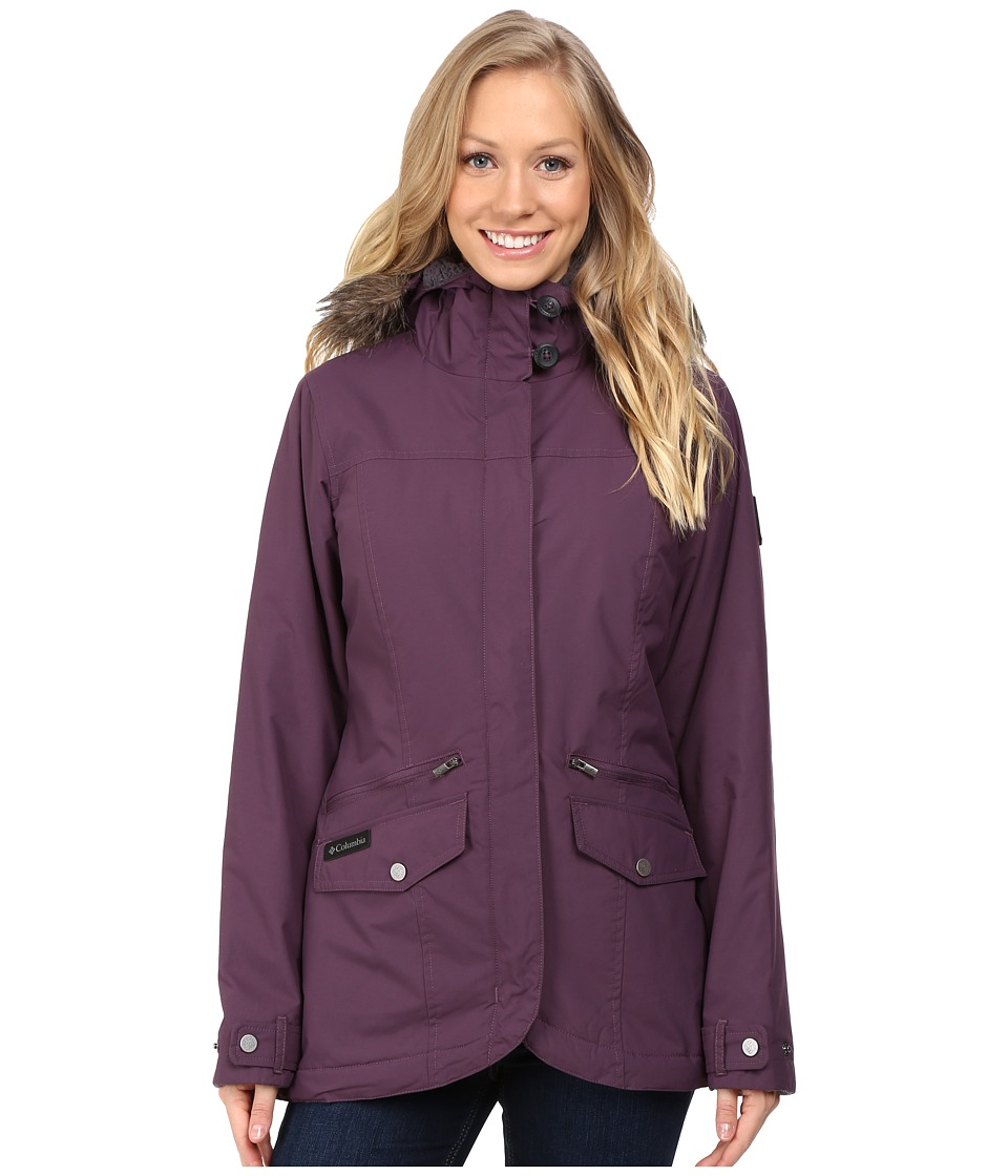 Columbia - Grandeur Peak Mid Jacket (Dusty Purple) Women's Coat