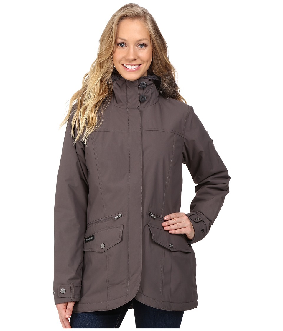 Columbia Grandeur Peak Mid Jacket (Mineshaft) Women