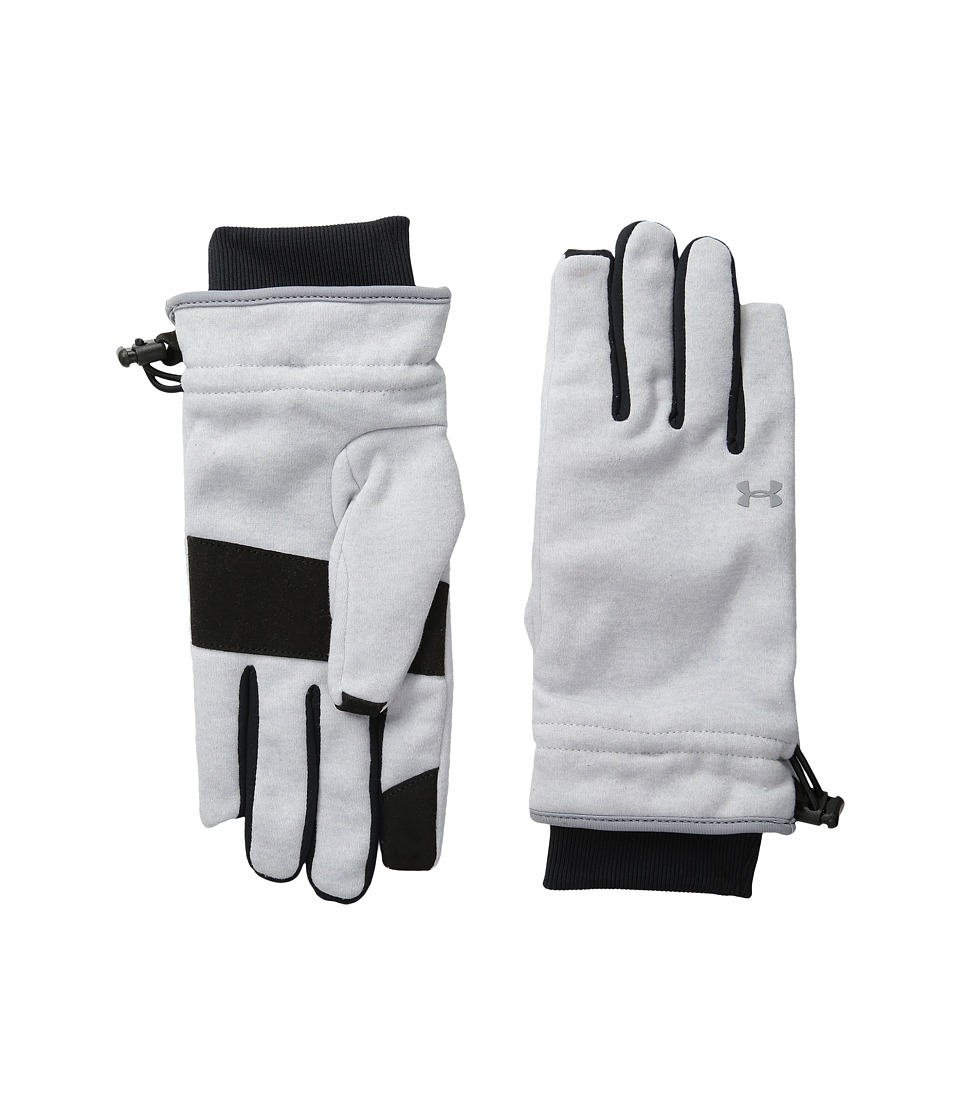 Under Armour - UA Elements Fleece Glove (Air Force Gray Heather/Silver) Extreme Cold Weather Gloves
