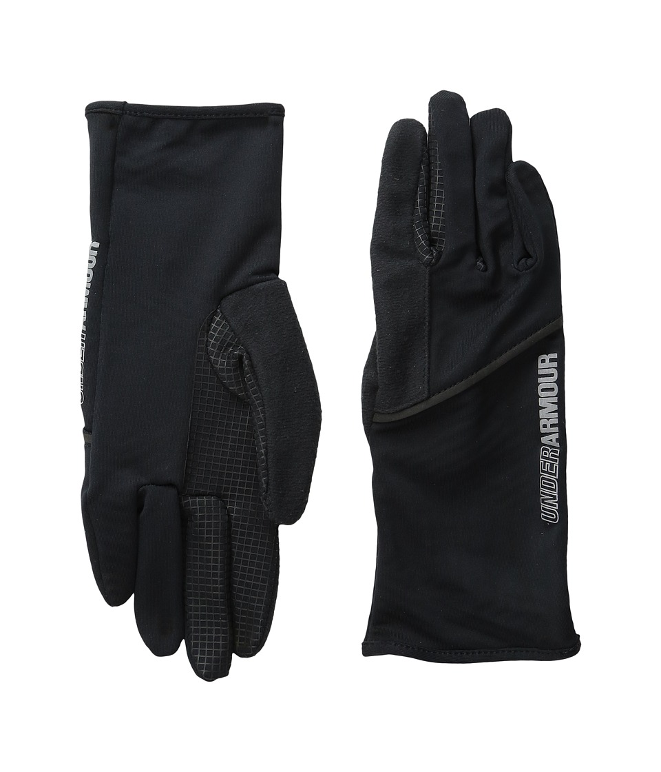 Under Armour - UA No Breaks Liner Glove (Black/Black) Liner Gloves