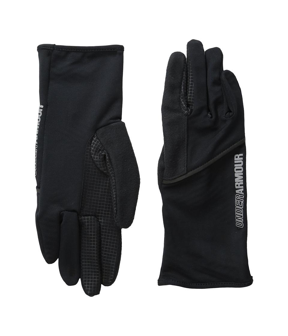 Under Armour UA No Breaks Liner Glove (Black/Black) Liner Gloves