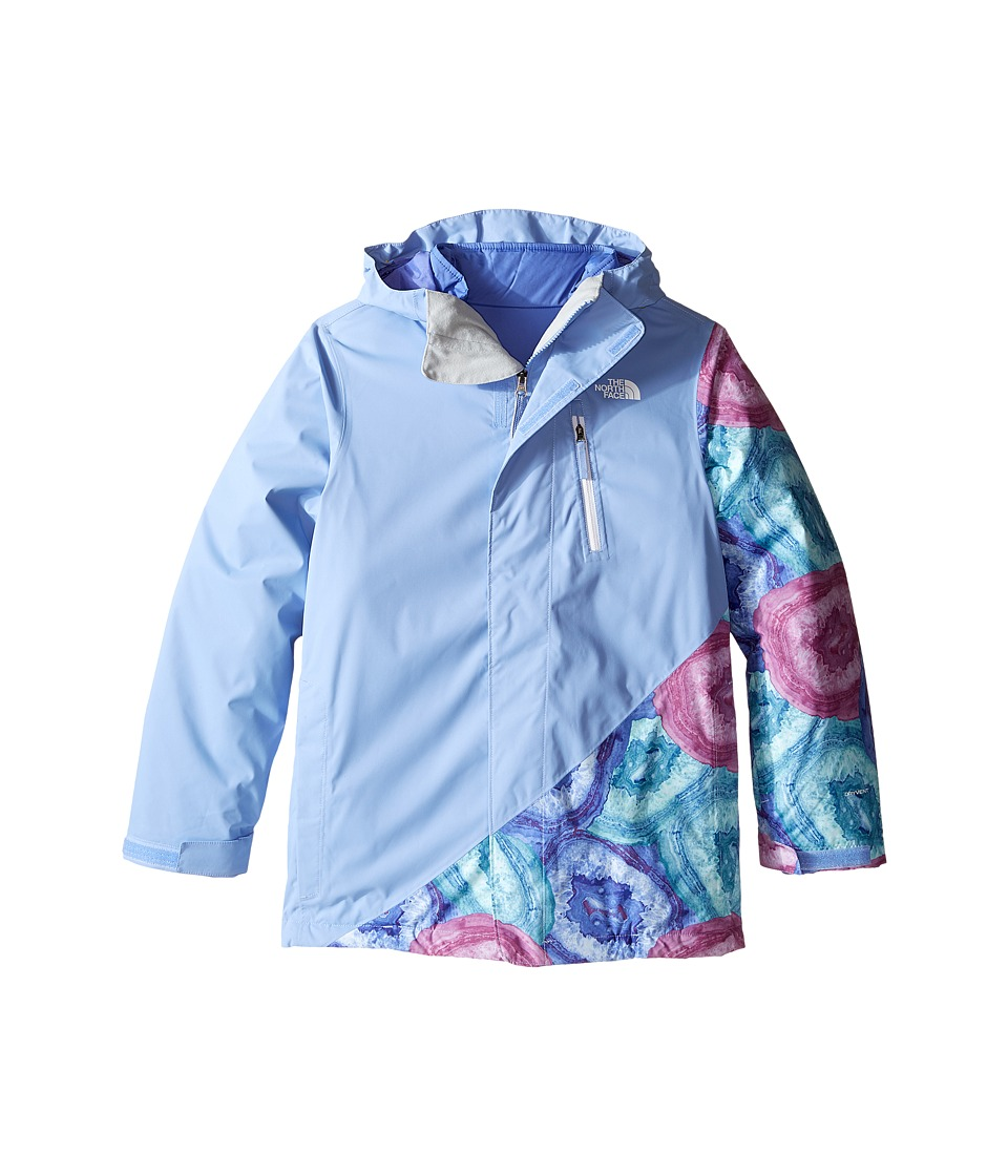 The North Face Kids - Abbey Triclimate Jacket (Little Kids/Big Kids) (Grapemist Blue) Girl's Coat