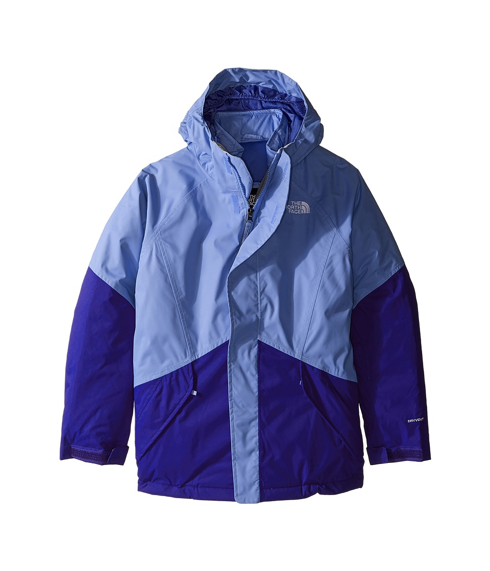 The North Face Kids - Kira Triclimate Jacket (Little Kids/Big Kids) (Grapemist Blue) Girl's Coat
