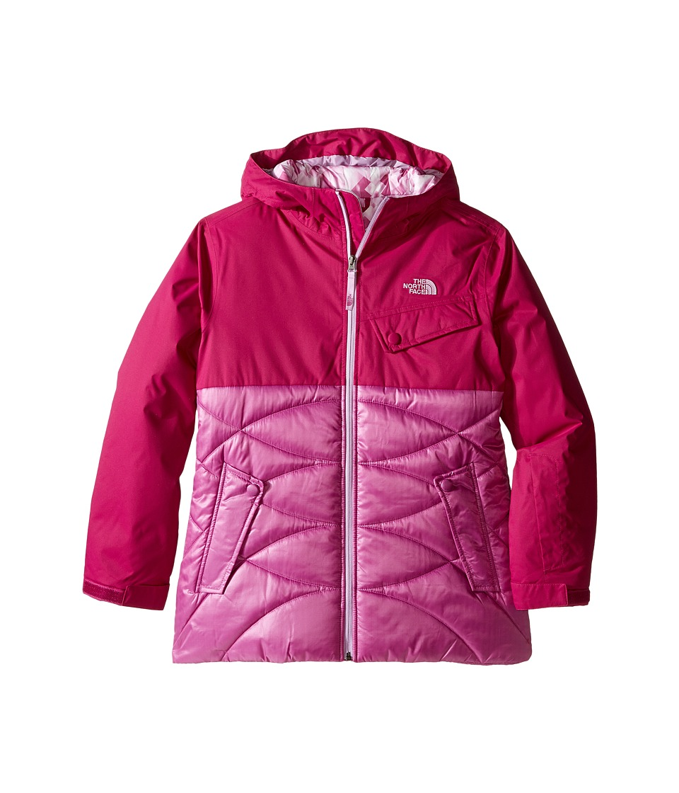 The North Face Kids - Carly Insulated Jacket (Little Kids/Big Kids) (Roxbury Pink) Girl's Coat