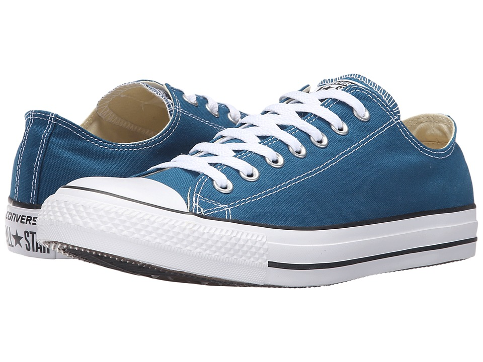 Converse Chuck Taylor All Star Seasonal Ox (Blue Lagoon) Athletic Shoes