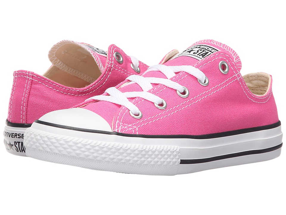 Converse Kids - Chuck Taylor All Star Seasonal Ox (Little Kid) (Mod Pink) Kids Shoes