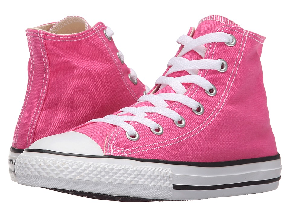 Converse Kids - Chuck Taylor All Star Seasonal Hi (Little Kid) (Mod Pink) Kids Shoes