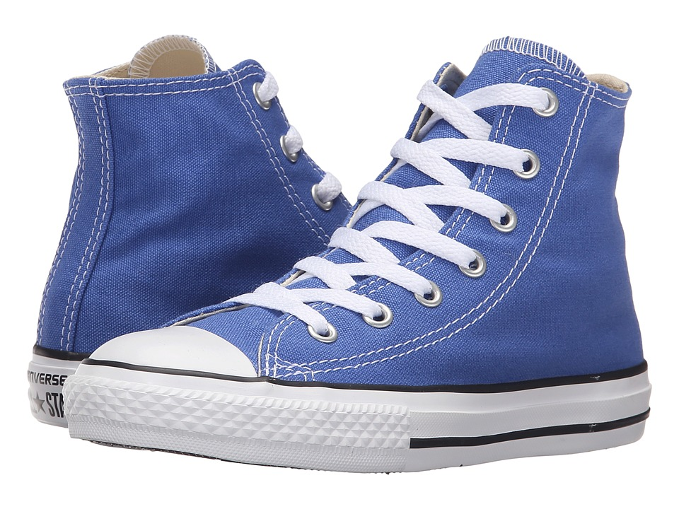Converse Kids - Chuck Taylor All Star Seasonal Hi (Little Kid) (Oxygen Blue) Kids Shoes