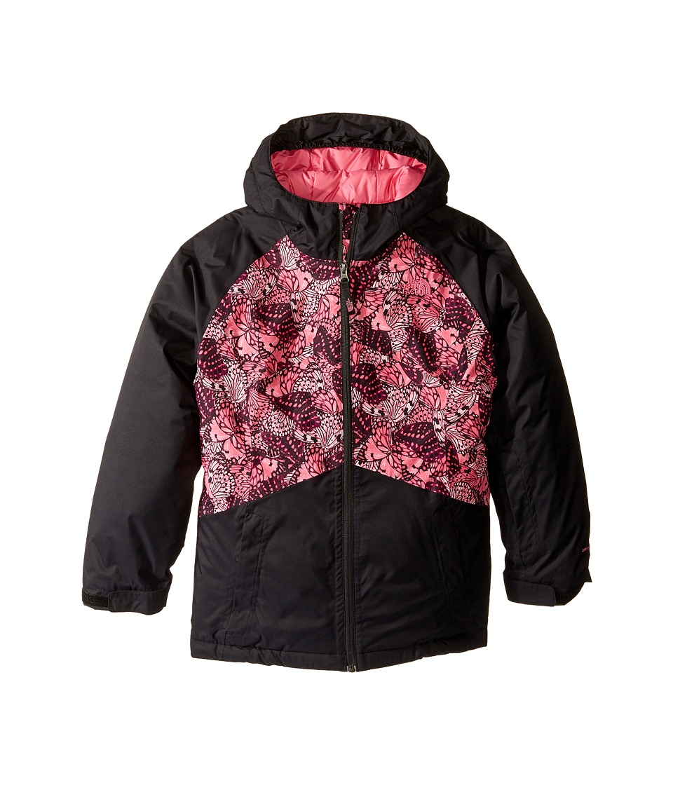 The North Face Kids - Brianna Insulated Jacket (Little Kids/Big Kids) (Cha Cha Pink Butterfly Camo) Girl's Coat