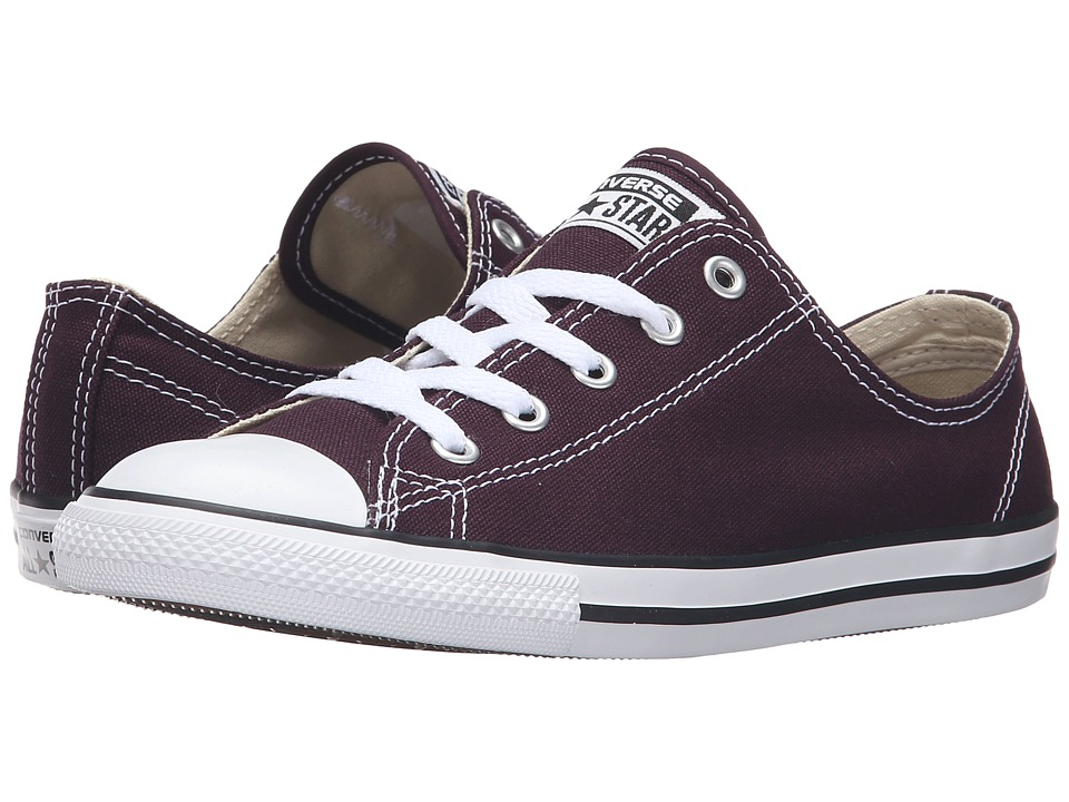 Converse - Chuck Taylor All Star Dainty Ox (Black Cherry) Women's Classic Shoes