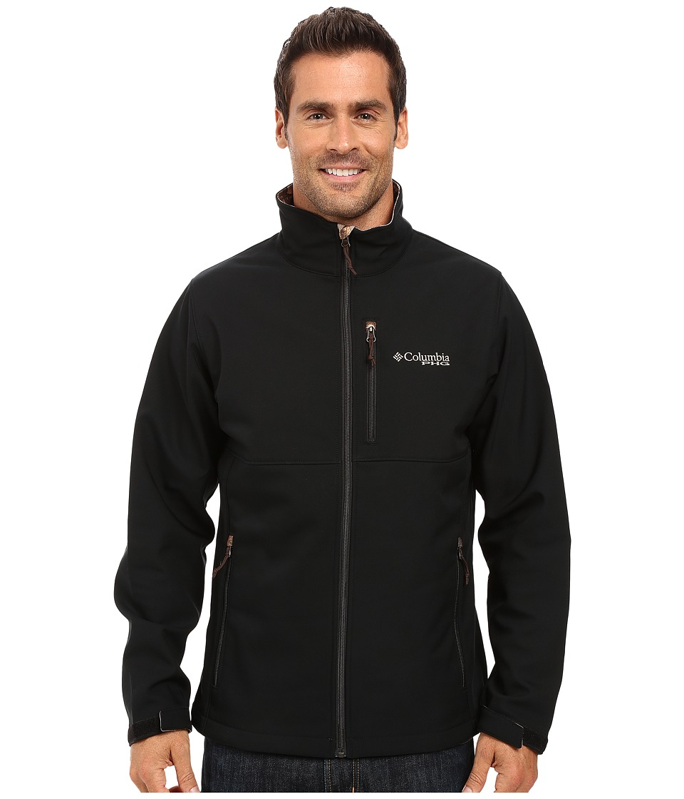 Columbia PHG Ascender Softshell Jacket (Black/AP Xtra) Men