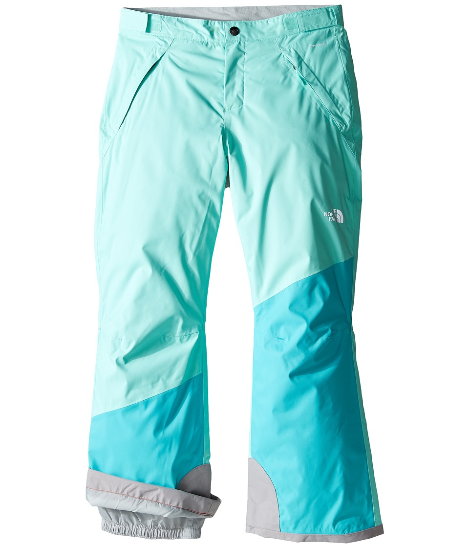 The North Face Kids - Freedom Insulated Pants (Little Kids/Big Kids) (Ice Green) Girl's Outerwear