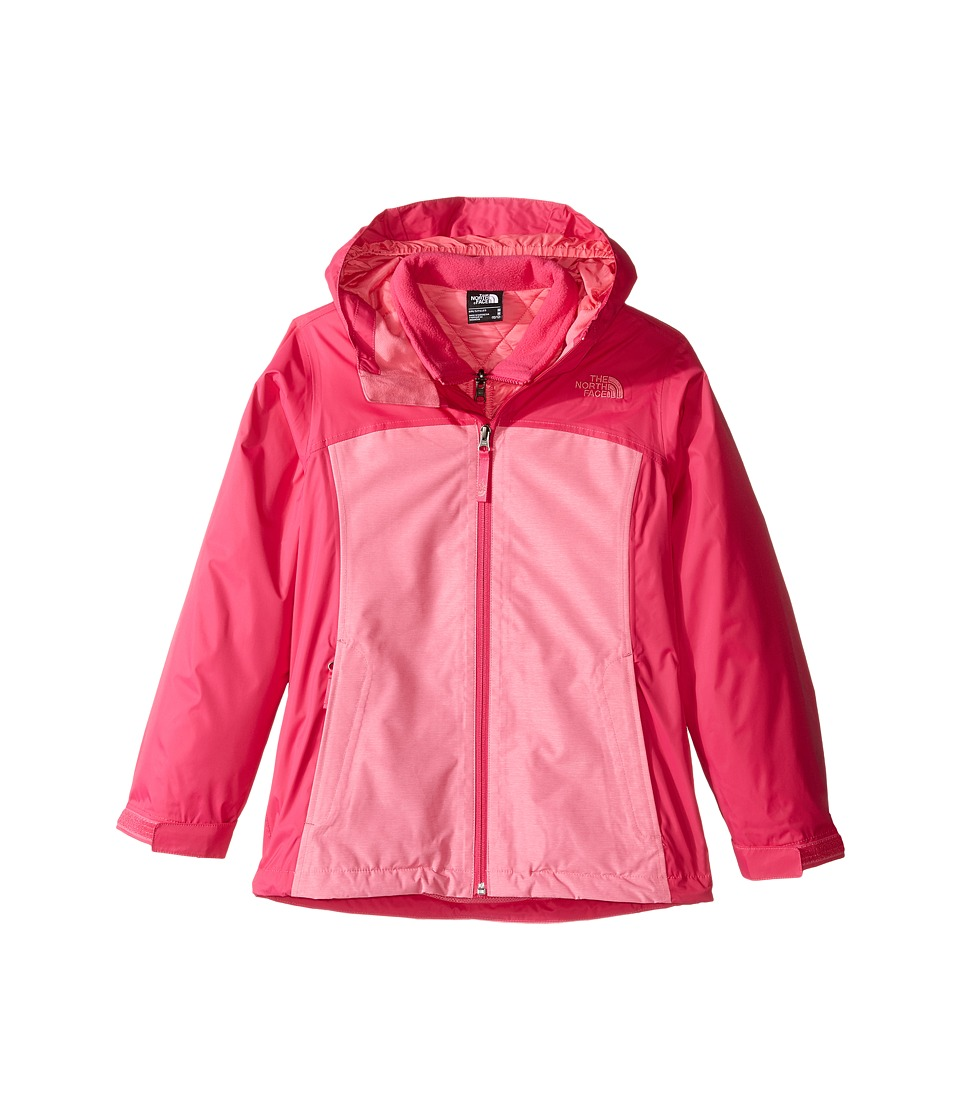 The North Face Kids - ThermoBall Triclimate Jacket (Little Kids/Big Kids) (Cha Cha Pink Heather) Girl's Coat