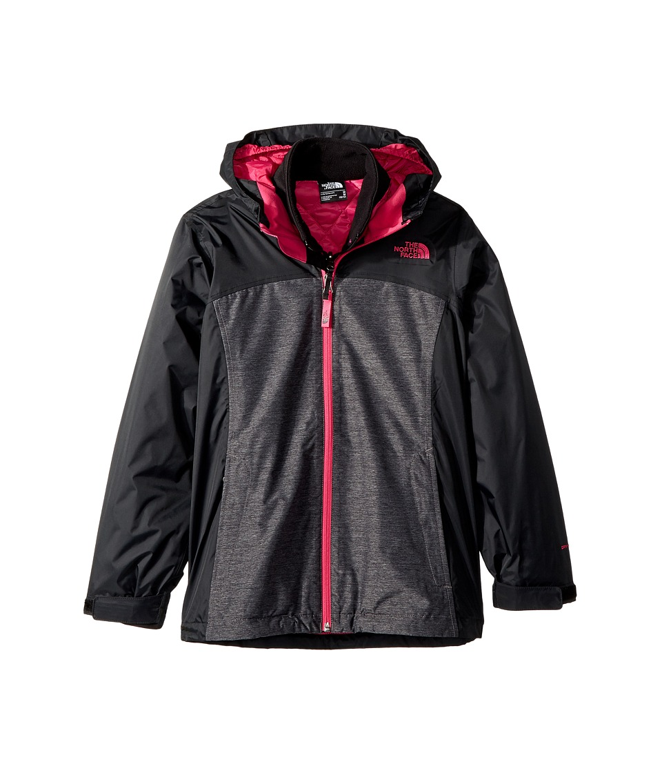 The North Face Kids - ThermoBall Triclimate Jacket (Little Kids/Big Kids) (TNF Black Heather) Girl's Coat