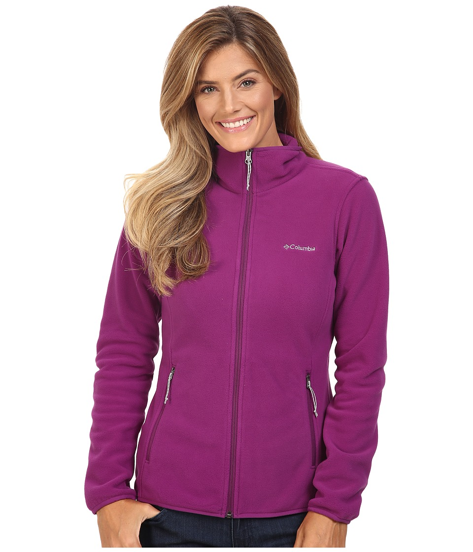 Columbia Fuller Ridge Fleece Jacket (Plum) Women