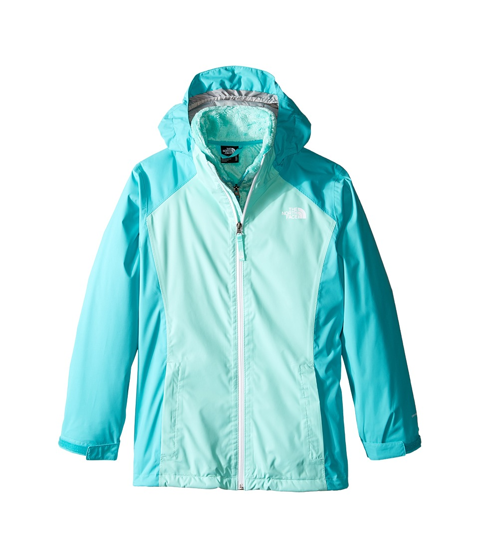 The North Face Kids - Osolita Triclimate Jacket (Little Kids/Big Kids) (Ice Green) Girl's Coat