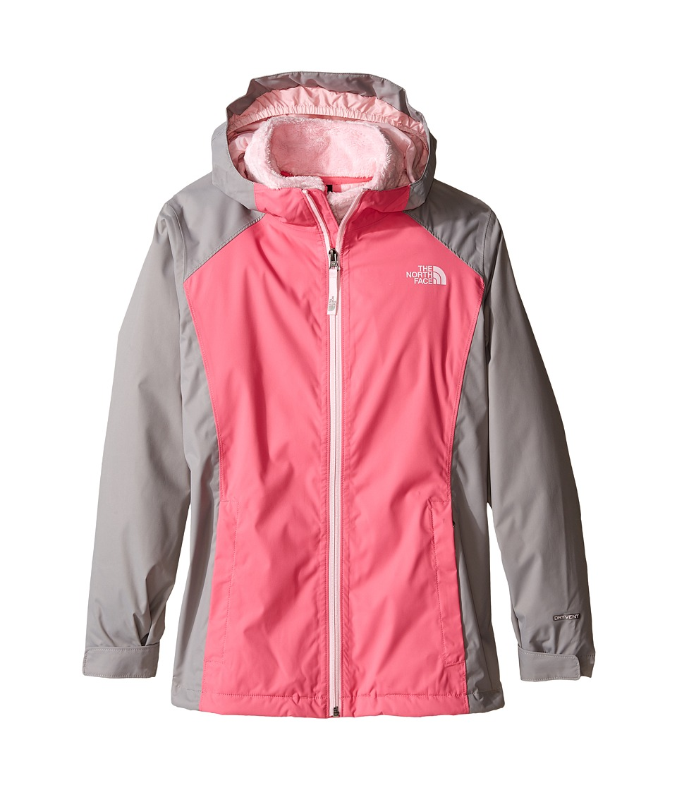 The North Face Kids - Osolita Triclimate Jacket (Little Kids/Big Kids) (Cha Cha Pink) Girl's Coat