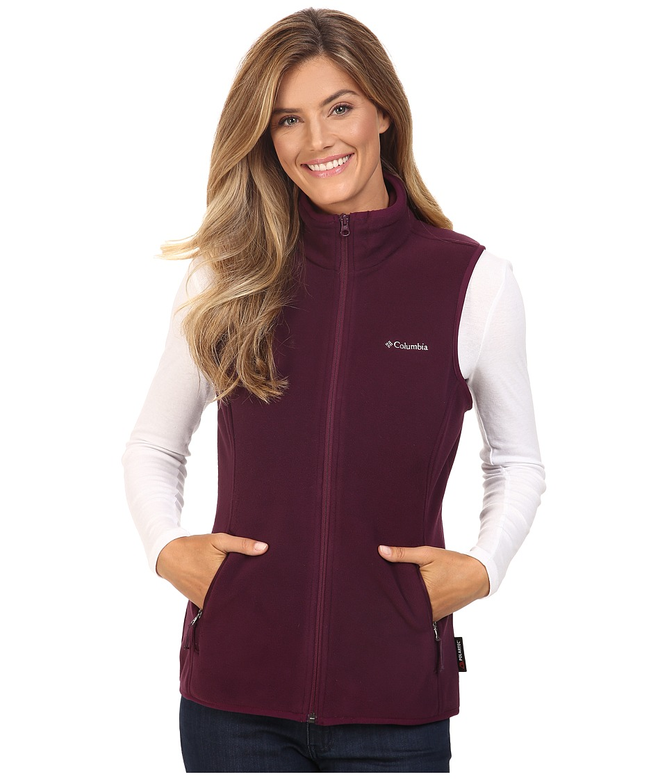 Columbia - Fuller Ridge Vest (Purple Dahlia) Women's Vest