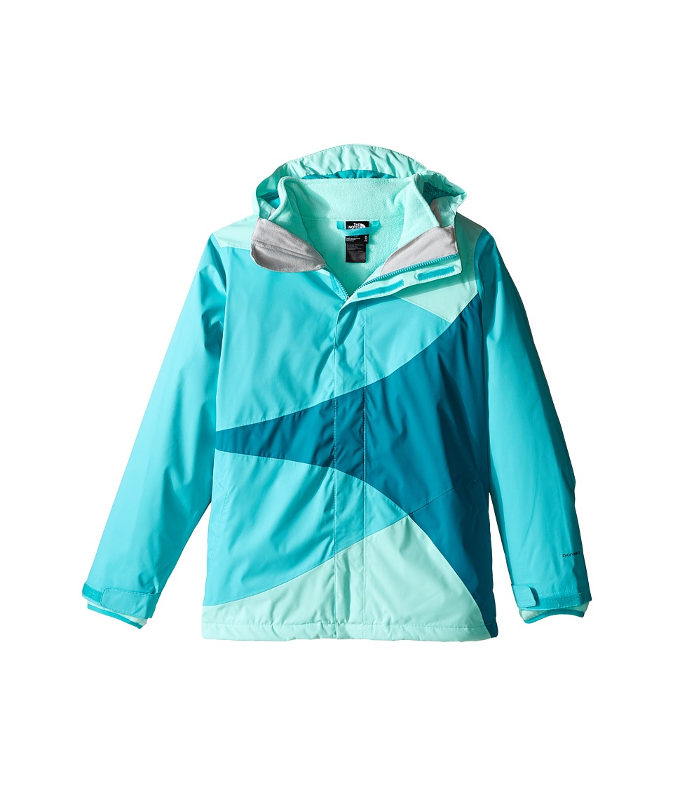 The North Face Kids - Mountain View Triclimate Jacket (Little Kids/Big Kids) (Ice Green) Girl's Coat