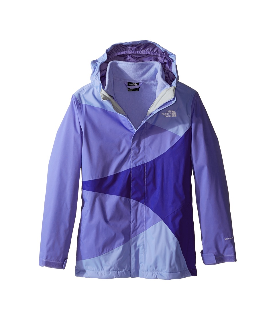 The North Face Kids - Mountain View Triclimate Jacket (Little Kids/Big Kids) (Grapemist Blue) Girl's Coat