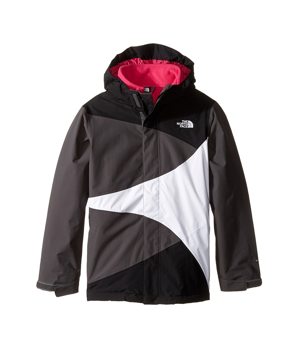 The North Face Kids - Mountain View Triclimate Jacket (Little Kids/Big Kids) (TNF Black) Girl's Coat
