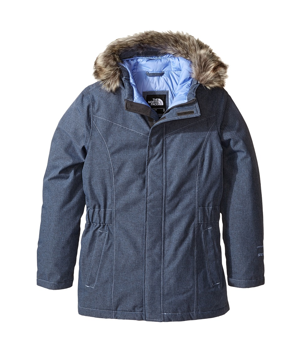The North Face Kids Greenland Down Parka (Little Kids/Big Kids) (Grapemist Blue Heather) Girl