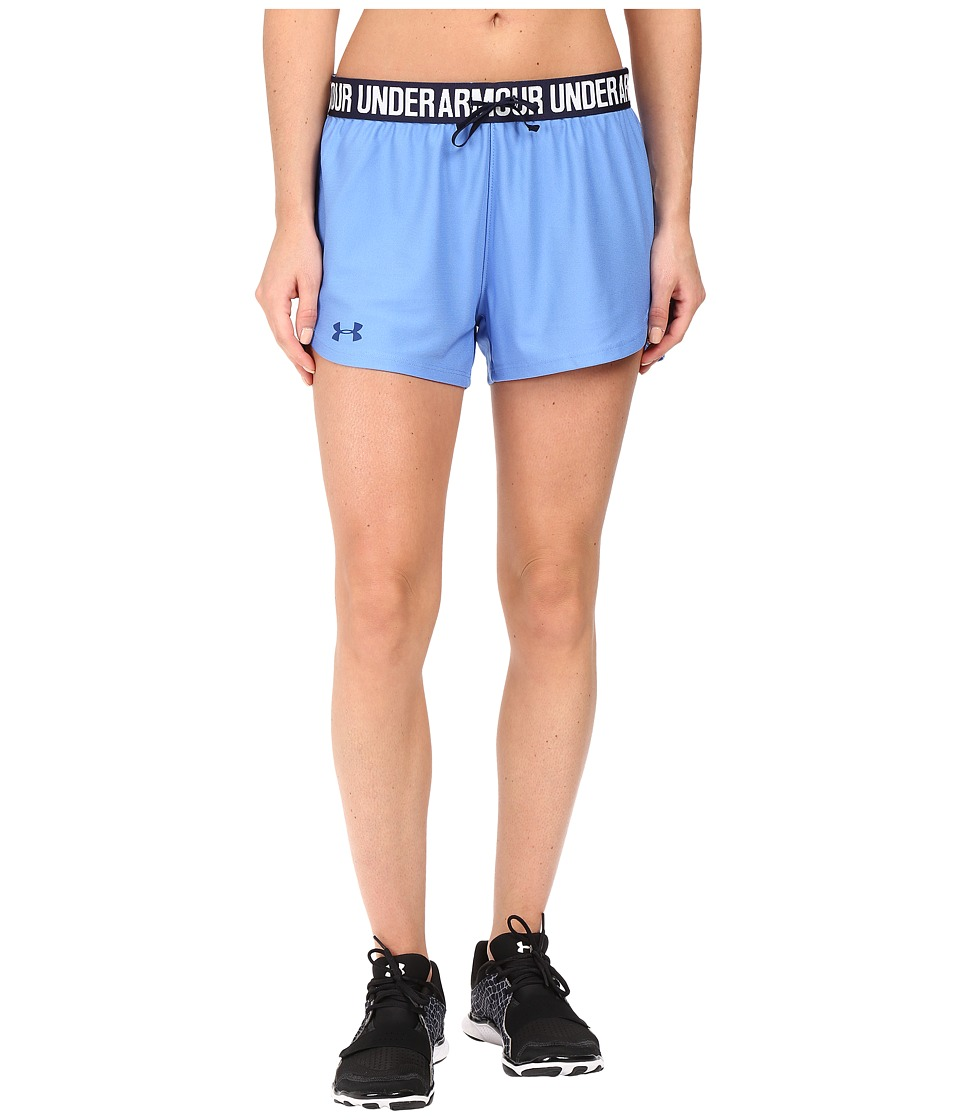Under Armour - UA Play Up Short (Water/Midnight Navy/Midnight Navy) Women's Shorts