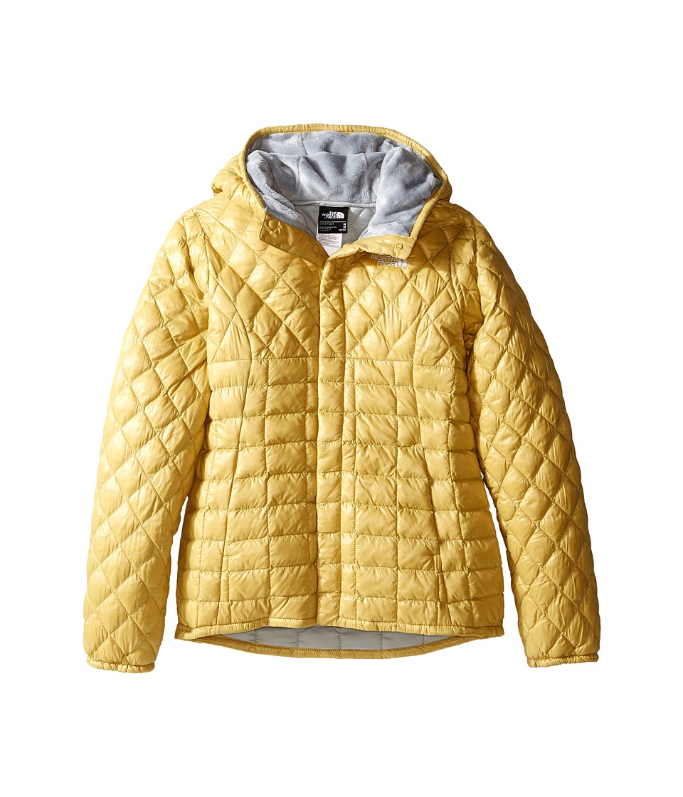 The North Face Kids Lexi ThermBall Hoodie (Little Kids/Big Kids) (Cocoon Yellow (Prior Season)) Girl