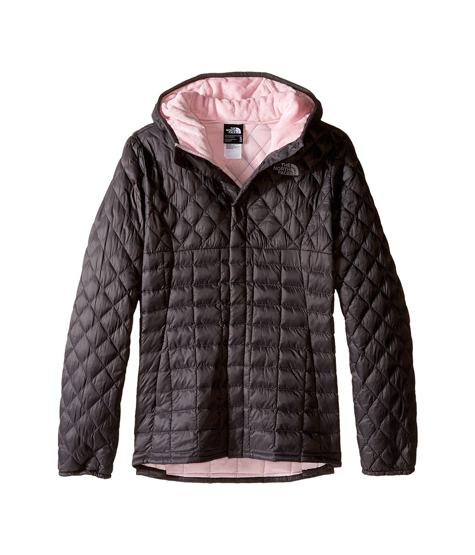 The North Face Kids - Lexi ThermBall Hoodie (Little Kids/Big Kids) (Graphite Grey) Girl's Coat
