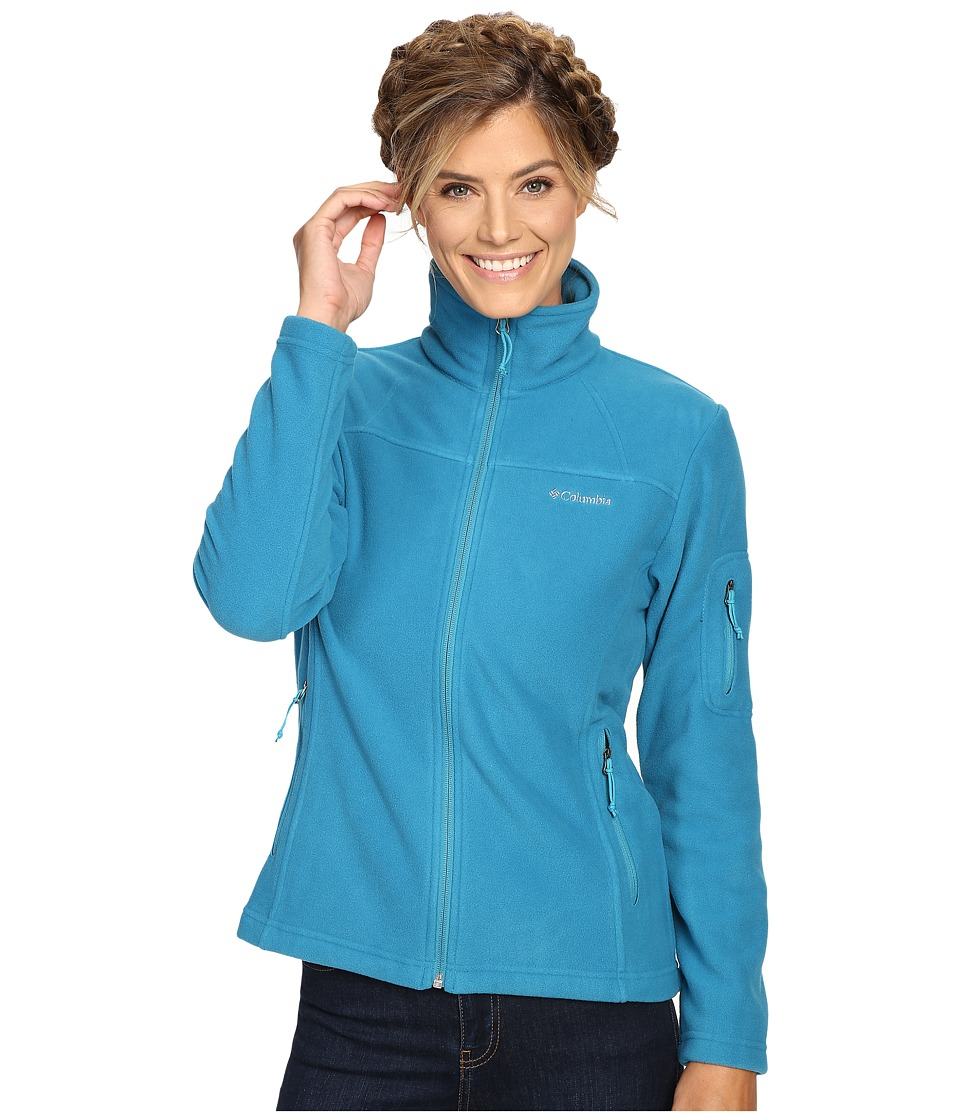 Columbia - Fast Trek II Full-Zip Fleece Jacket (Deep Marine) Women's Coat