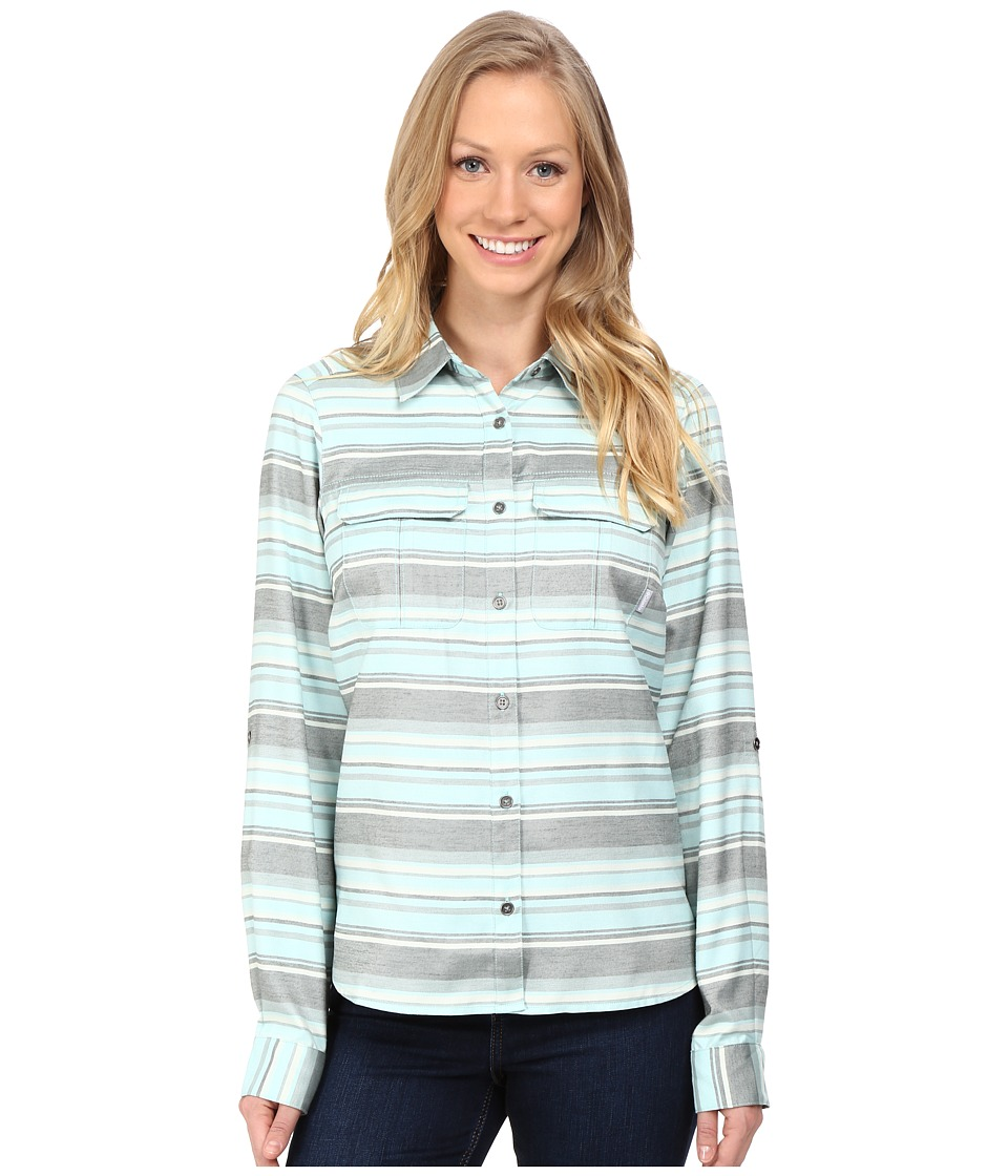 Columbia - Pilsner Lodge Stripe Long Sleeve Shirt (Spray Stripe) Women's Long Sleeve Button Up