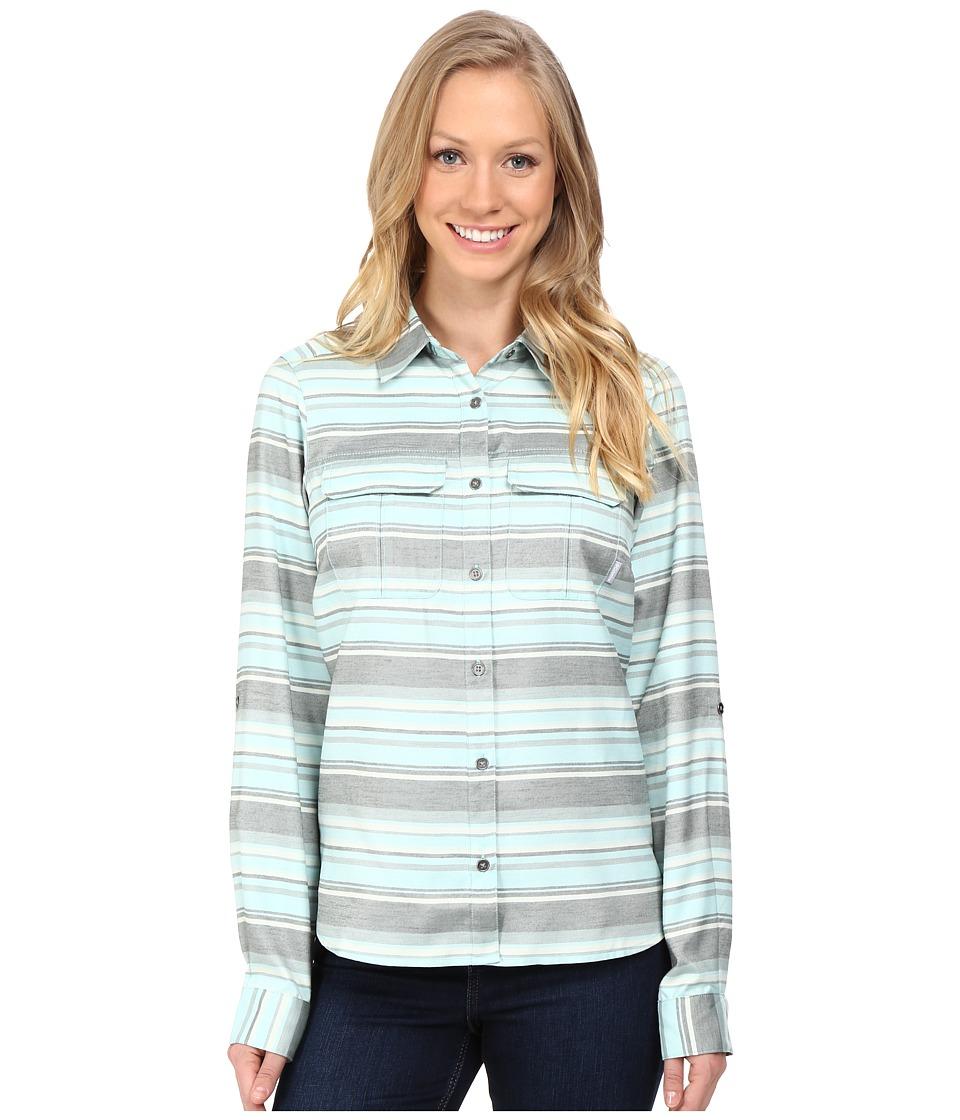 Columbia - Pilsner Lodge Stripe Long Sleeve Shirt (Spray Stripe) Women's Long Sleeve Button Up