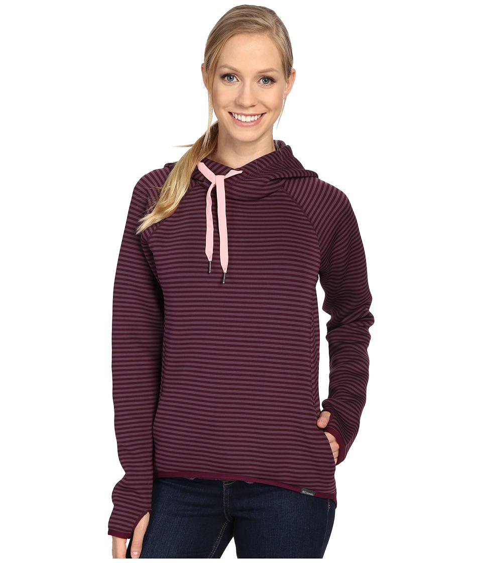 Columbia - Castella Peak Hoodie (Purple Dahlia/Rosewater) Women's Sweatshirt