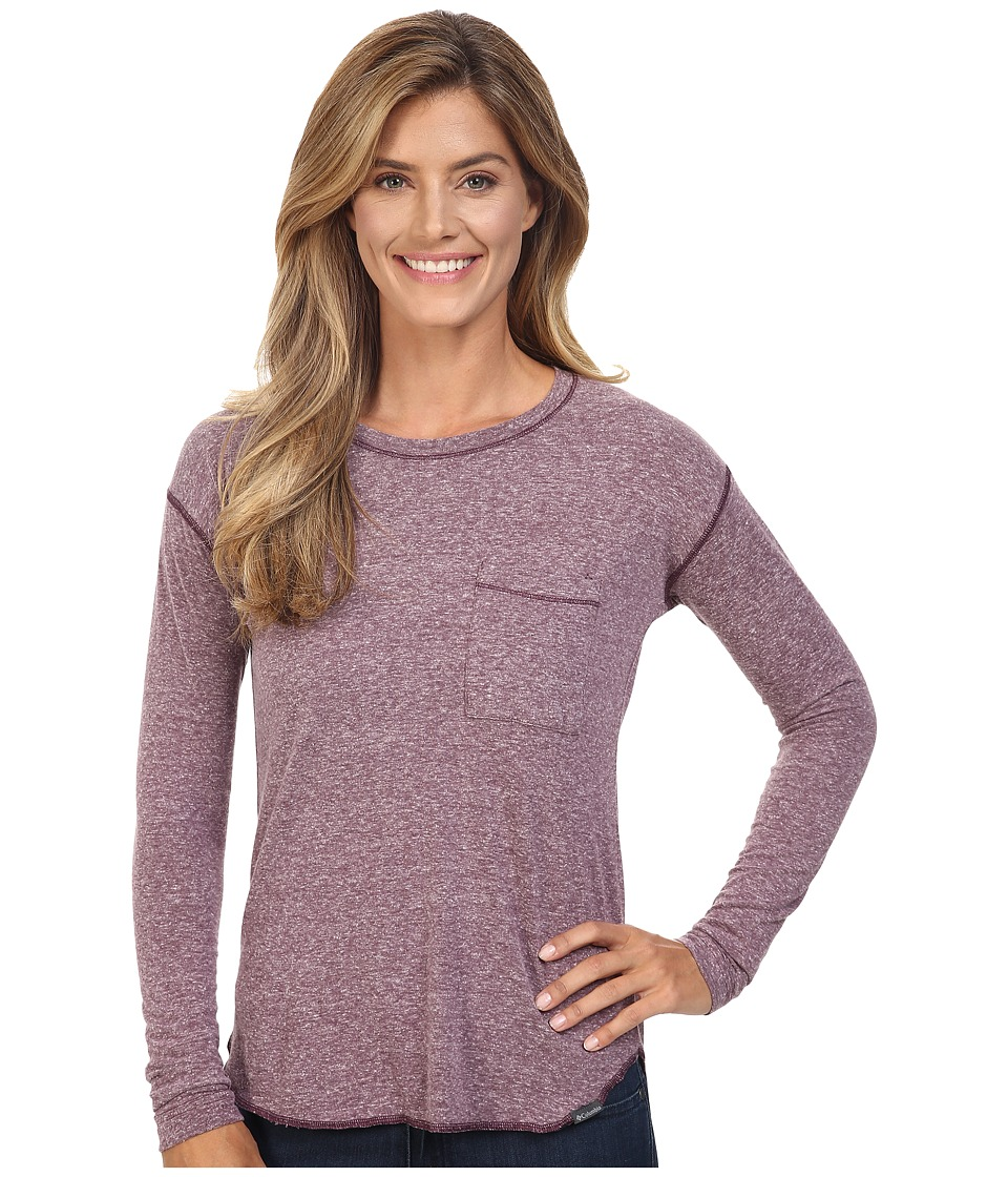 Columbia Trail Shaker Long Sleeve Shirt (Purple Dahlia Heather) Women