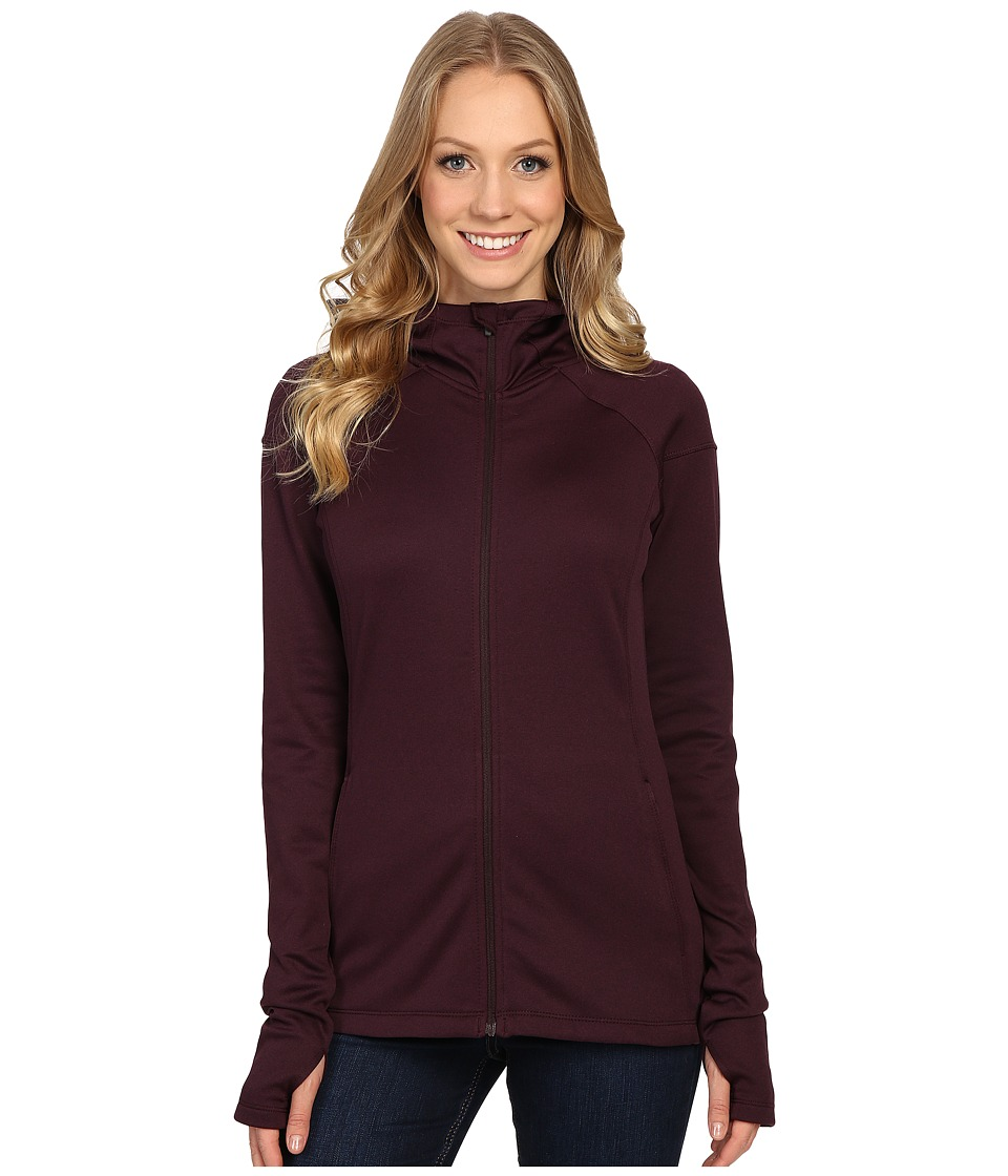 Columbia - Saturday Trail Hooded Jacket (New Cinder Heather) Women's Coat