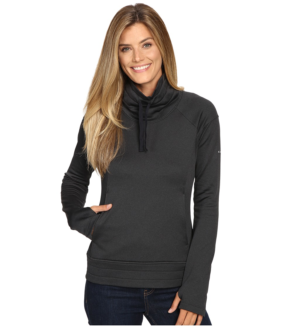Columbia - Saturday Trail Pullover Top (Black Heather) Women's Clothing