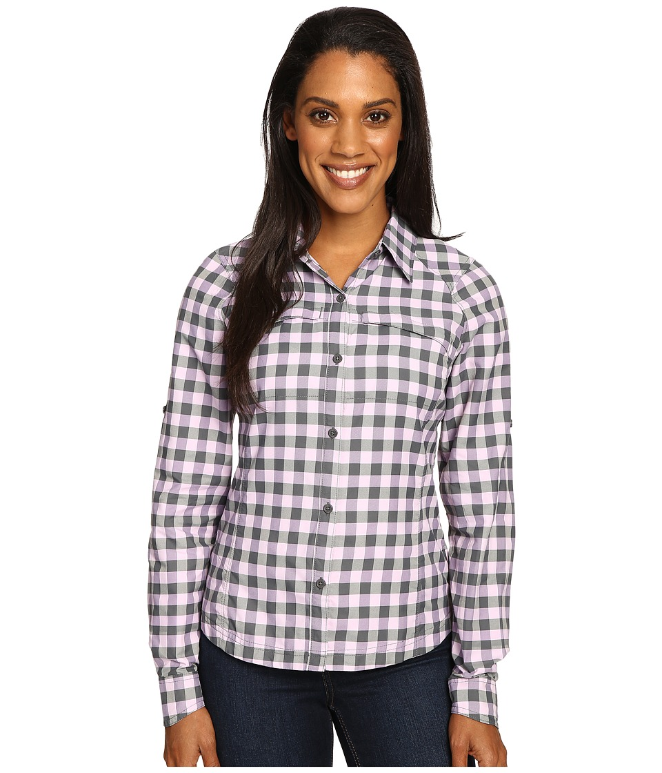 Columbia - Silver Ridge Plaid L/S (Graphite Twill) Women's Long Sleeve Button Up
